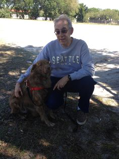 Our meet and greet with Foster Dad Wayne and Cinnamon! Needless to say, Wayne didn't take her back home, we did! A beautiful day for all! Thank you Wayne for taking care of Cinnamon until she was brought into our lives.Cinnamon will always love you!