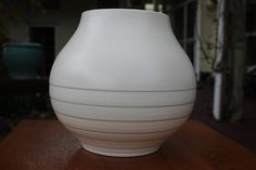 Crown Lynn Large Vase Hand Potted 23cms. Excellent Condition | Trade Me