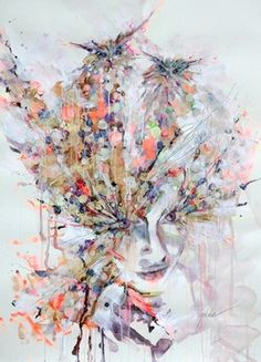 "Saatchi Online Artist Lykke Steenbach Josephsen; Painting, ""No title"" #art"