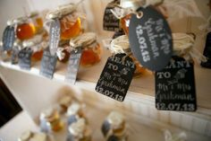 Cute jam wedding #favors