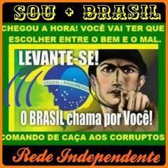 Todo o povo que reside e trabalha no Brasil!