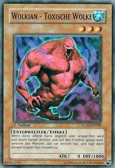 Original KONAMI Yu-Gi-Oh! Trading Card  GLAS-DE009 Wolkian - Toxische Wolke / Cloudian - Poison Cloud Deck: GLAS Gladiator's Assault Seltenheit: Common Kartentyp: Effekt-Monsterkarte Typ: Unterweltler / Effekt ATK/DEF: 0/1000 Kartennummer: 83982270    Günstig bei eBay kaufen!
