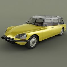 model of 1968 citroen ds 21 Ds 3d, Automobile, Citroen Car, Car Advertising, Motor Car, Vintage Cars, Classic Cars, Model, Motorcycles