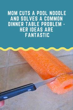 Pool noodles aren't just for your kids and the pool. They can actually be used for a variety of DIY projects around the house. Here are a few fun and clever ways to use pool noodles in an effective manner.Clever Uses Of Pool Noodles Pool Noodle Crafts, Crafts With Pool Noodles, Budget, Perfume, Diy Hanging, Do It Yourself Home, Mason Jar Crafts, Diy Projects To Try, Craft Projects