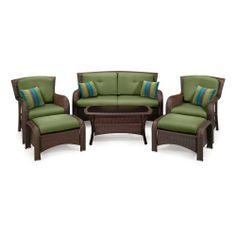 Sawyer 6 Piece Deep Seating Set (Wicker, Green) by La-Z-Boy Outdoor La-Z-Boy Outdoor http://www.amazon.com/dp/B00IDDPEB6/ref=cm_sw_r_pi_dp_kYTNtb129P39Y357