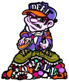 The New Deal Skateboards Andy Howell Maltov Kid sticker