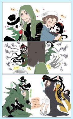 Identity V. Gardener and umm. V Cute, Cute Art, Shao Jun, Id Identity, Banana Art, Loki Marvel, My Hero Academia Episodes, Manga, Anime Characters
