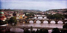 Prague Cityscape - Texture Print by Barry O Carroll Brooklyn Bridge, Prague, Big Ben, Fine Art America, Fashion Photography, Texture, Canvas, Prints, Travel