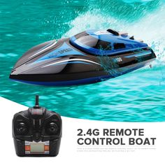 USA RC Racing Boat Remote Control Ship High Speed Twin Motor Kids Adult Toy
