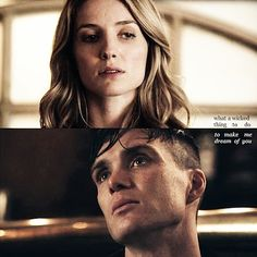 Grace Burgess (Annabelle Wallis) and Tommy Shelby (Cillian Murphy) in BBC Peaky Blinders