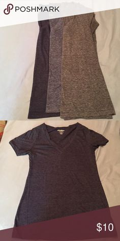 3 Vintage soft V-neck tees! I love these and have duplicates of colors! Super soft and loose fitting! All are the same size and you get all 3 for one price! Old Navy Tops Tees - Short Sleeve