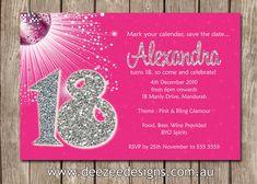 Einladungskarten 18. Geburtstag Selbst Gestalten