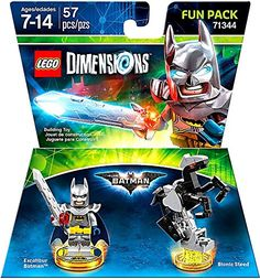 Excalibur Batman + Bionic Steed Fun Pack - LEGO Dimensions - Not Machine Specific