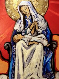 Just listed now available! Spanish colonial art retablo patron of Puerto Rico by Art4thesoul, $240.00