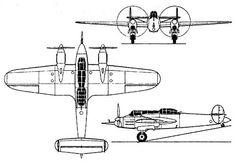 Rogožarski R-313 light bomber/heavy fighter