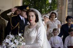 The Crown Season 1 - see the stunning costumes and the two sides to one of the worlds most famous families.