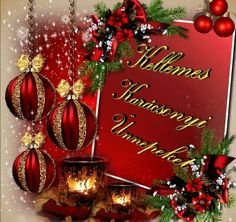 Christmas Wreaths, Christmas Bulbs, Merry Christmas, Happy New Year 2020, Advent, Greeting Cards, Seasons, Holiday Decor, Quotes