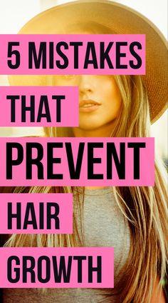 Hair Growth Tips: How to Grow Long Hair Fast