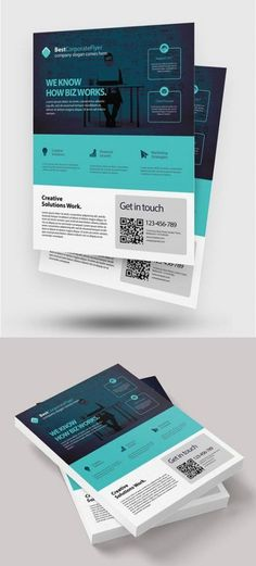New financial services brochure template free financial services brochure template free inspirational modern corporate flyer template Web Design, One Pager Design, Layout Design, Graphic Design Brochure, Food Design, Corporate Design, Corporate Flyer, Corporate Business, Corporate Identity