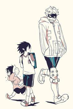 Boku no Hero Academia || Tamaki Amajiki, Fatgum.