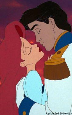 Ariel and Eric, so close
