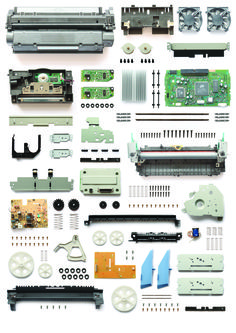 SUBMISSION: Deconstruction of an inkjet printer by Hugo Evans