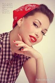 scarlett johansson pin up Retro Girls, Vintage Girls, Retro Vintage, 50 Fashion, Retro Fashion, Portraits, Just Smile, Vintage Colors, Scarlett Johansson