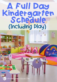 What Do We Do All Day? A playful Kindergarten schedule