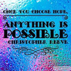 Once you choose hope anything is possible. #OrnamentsByRebecca #NotJustForChristmas #etsyseller #handcrafted #etsyshop