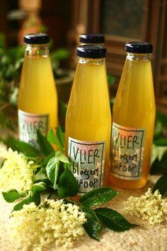 recept Vlierbloesem siroop