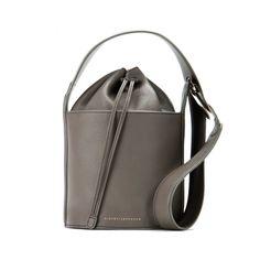 Fall 2015's Top Handbag Trends | The Zoe Report - Leather Bucket Bag, Victoria Beckham