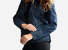The Smart Jacket by Levi's: Everything You Need to Know Smart Jackets, Smart Outfit, Brand New, Denim, My Style, Sleeves, How To Wear, Clothes, Internet