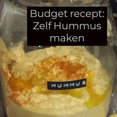 Budgetrecept: Hummus of hoemoes of houmous…. Budgetrecept: Hummus van hoemoes of houmous …. Hummus, Food Inspiration, Veggies, Baking, Blog, Healthy, Recipes, Middle, Money