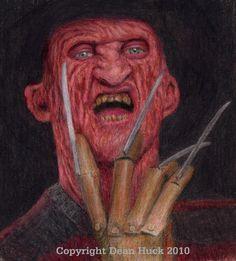 Freddy Krueger - by Dean Huck on ARTwanted
