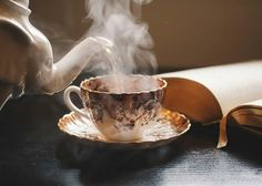 Image about photography in Coffee - Tea by Bà Già Bé Mourning Dove, Afternoon Tea, Beauty And The Beast, Tea Time, Tea Party, Tea Cups, Tableware, Sweet, Inspiration