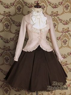 Suit Jacket & Skirt Combination. Someday I'm going to get me an outfit like this because it just looks so beautiful!