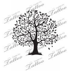 Tree of Life Tattoo | Hi, #33316 | CreateMyTattoo.com