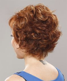 Back. Short Hair Styles age 40 Women with wavy hair | Formal Short Wavy Hairstyle - - 11067 | TheHairStyler.com