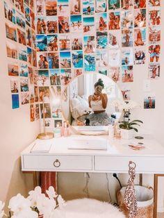 Home Interior Decoration .Home Interior Decoration Cute Room Ideas, Cute Room Decor, Teen Room Decor, Room Ideas Bedroom, Bedroom Decor, Bedroom Inspo, Teen Bedroom, Aesthetic Room Decor, Cozy Room