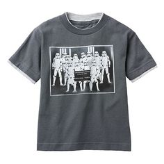 Star Wars Stormtrooper Class Photo Mock-Layer Tee - Boys 4-7