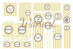 Wanart  Kit Banheiro - Casamento Caixas Decoradas, Decoração De Casamento,  Banheiro, Alguns f6a82c1e33