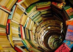 awesome book tunnel