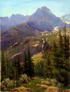 Midsummer Cascade Canyon -  Todd Connor