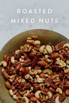Roasted Mixed Nuts via @PureWow