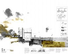 10 Architecture Portfolios for Design Inspiration Architecture Panel, Architecture Visualization, Architecture Graphics, Architecture Portfolio, Architecture Drawings, Landscape Architecture, Landscape Design, Architecture Design, Architecture Presentation Board