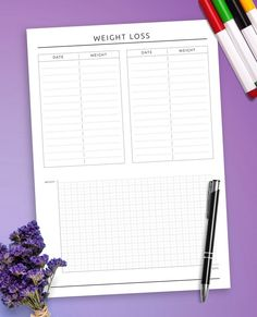 This collection of Workout Diary Templates help you to be more efficient and keep track of everything in one place. Easy and affordable way to organize your life! Find what works for you, and feel great in the process. Meal Planner Printable, Planner Template, Free Printable, Fitness Diary, Fitness Journal, Diary Template, Health Routine, Gym Junkie, Organize Your Life