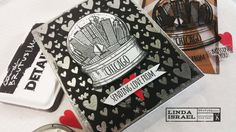 Love From Chicago Greeting Card Snow Globe Embossing Chicago Stamp How to Emboss Brutus Monroe