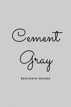 Cement Paint Colors, Light Grey Paint Colors, Best Gray Paint Color, Greige Paint Colors, Paint Color Schemes, Bedroom Paint Colors, Interior Paint Colors, Paint Colors For Home, House Colors