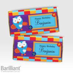 Personalised Chocolate Bars by Barilliant. © www.barilliant.com.au 2013 #love #personalised  #chocolate #personalisedchocolate #barilliant #bars #sweet #gorgeous #events #personalisedbar #chocolatebar #giggle #hoot