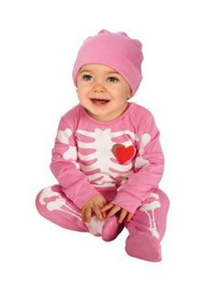 Rubies Costume My First Halloween Pink Skeleton Costume Pink 612 Months *** For more information visit image link.  sc 1 st  Pinterest & 29 best 0-3 Month Halloween Costumes images on Pinterest | Children ...
